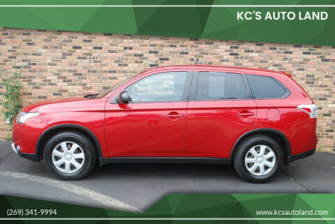 2015 Mitsubishi Outlander for sale at KC'S Auto Land in Kalamazoo MI