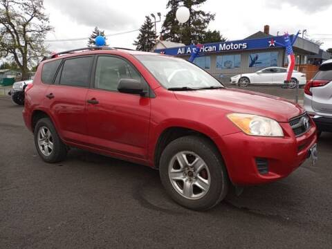 2009 Toyota RAV4 for sale at All American Motors in Tacoma WA