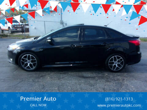 2016 Ford Focus for sale at Premier Auto in Independence MO