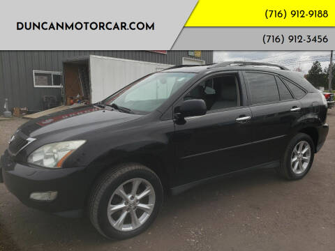 2009 Lexus RX 350 for sale at DuncanMotorcar.com in Buffalo NY