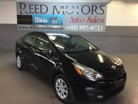 2013 Kia Rio for sale at REED MOTORS LLC in Phoenix AZ