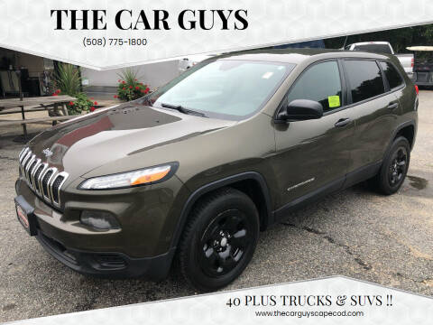 2014 Jeep Cherokee for sale at The Car Guys in Hyannis MA