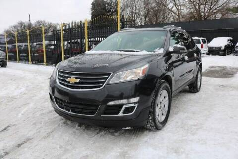 2014 Chevrolet Traverse for sale at F & M AUTO SALES in Detroit MI