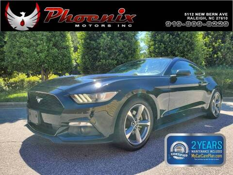 2015 Ford Mustang for sale at Phoenix Motors Inc in Raleigh NC