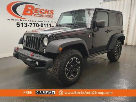 2014 Jeep Wrangler for sale at Becks Auto Group in Mason OH