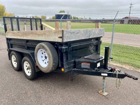 2006 Load Trail 10' TANDEM AXLE DUMP TRAILER for sale at Affordable Auto Sales in Cambridge MN