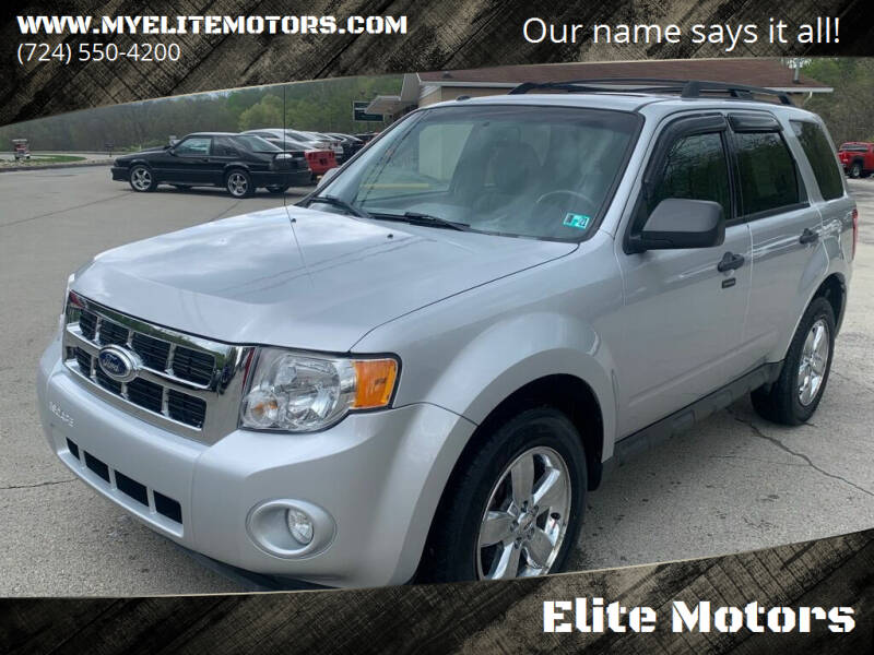 2011 Ford Escape for sale at Elite Motors in Uniontown PA
