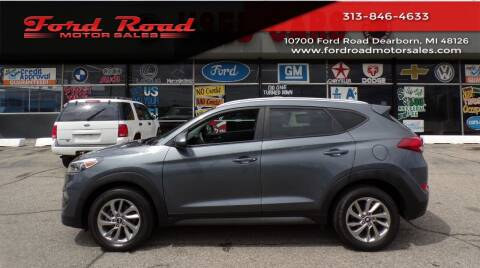 2016 Hyundai Tucson for sale at Ford Road Motor Sales in Dearborn MI