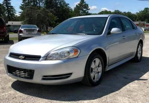 2009 Chevrolet Impala for sale at Hilltop Auto in Prescott MI