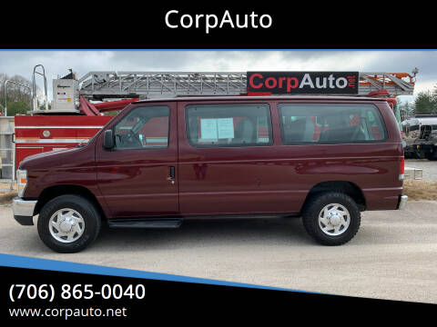 2010 Ford E-Series Wagon for sale at CorpAuto in Cleveland GA