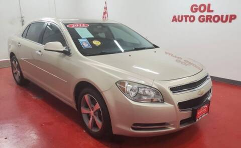 2012 Chevrolet Malibu for sale at GOL Auto Group in Austin TX