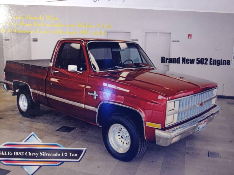 1982 Chevrolet Silverado 1500 SS Classic for sale in San Luis Obispo, CA