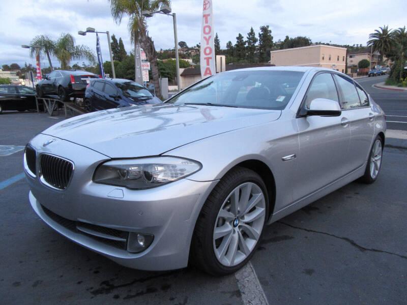 2011 BMW 5 Series for sale at Eagle Auto in La Mesa CA