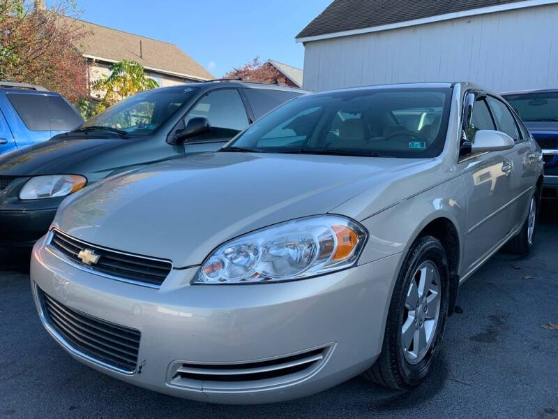 2008 Chevrolet Impala for sale at Waltz Sales LLC in Gap PA