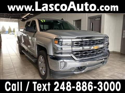 2017 Chevrolet Silverado 1500 for sale at Lasco of Waterford in Waterford MI