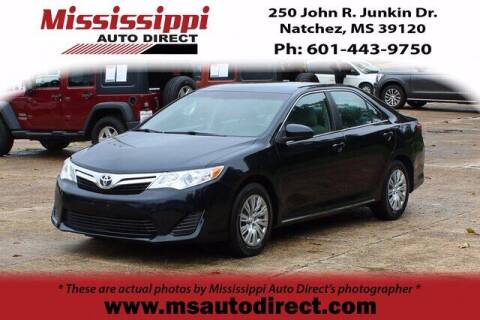 2014 Toyota Camry for sale at Auto Group South - Mississippi Auto Direct in Natchez MS