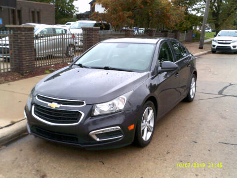 2015 Chevrolet Cruze for sale at Fred Elias Auto Sales in Center Line MI