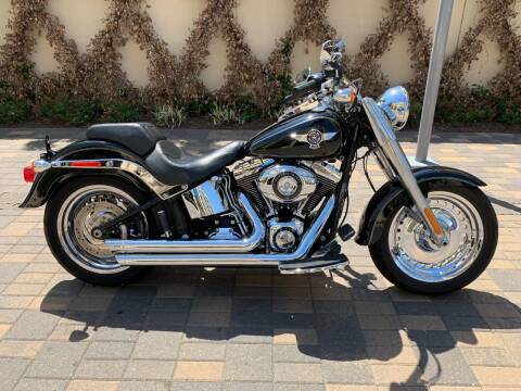 2014 Harley-Davidson Fatboy for sale at ROGERS MOTORCARS in Houston TX