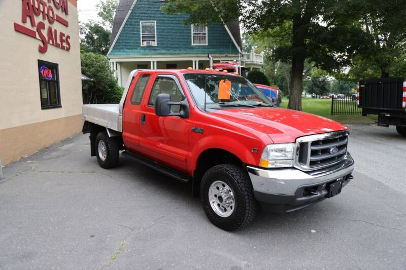 2001 Ford F-350 Super Duty for sale at FENTON AUTO SALES in Westfield MA