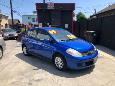 2009 Nissan Versa for sale at The Lot Auto Sales in Long Beach CA
