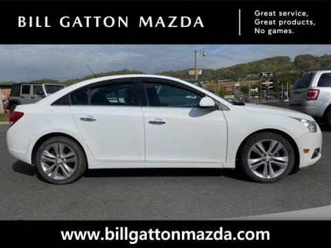 2013 Chevrolet Cruze for sale at Bill Gatton Used Cars - BILL GATTON ACURA MAZDA in Johnson City TN