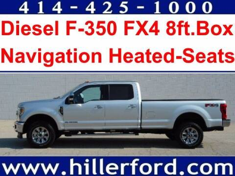 2018 Ford F-350 Super Duty for sale at HILLER FORD INC in Franklin WI