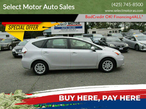 2012 Toyota Prius v for sale at Select Motor Auto Sales in Lynnwood WA