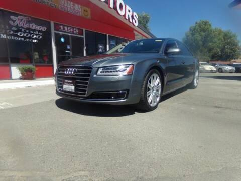 2015 Audi A8 L for sale at Phantom Motors in Livermore CA