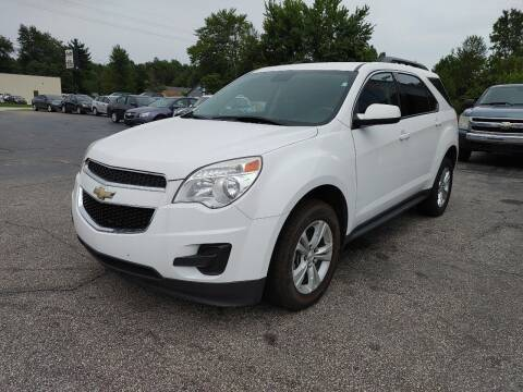 2015 Chevrolet Equinox for sale at Cruisin' Auto Sales in Madison IN