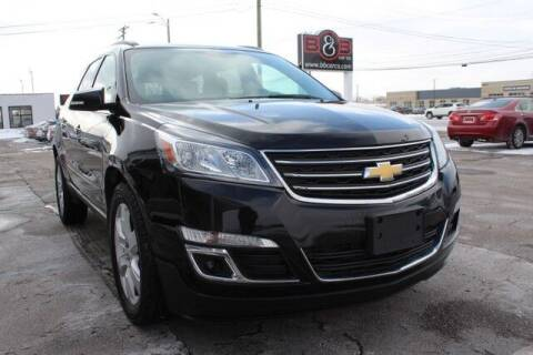 2017 Chevrolet Traverse for sale at B & B Car Co Inc. in Clinton Twp MI