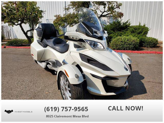 2014 Can-Am Spyder RT-S SE6 for sale at INVESTAMOBILE in San Diego CA