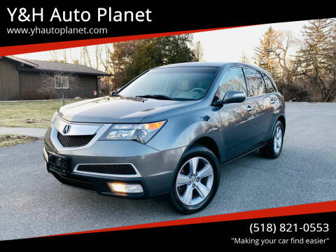 2012 Acura MDX for sale at Y&H Auto Planet in West Sand Lake NY