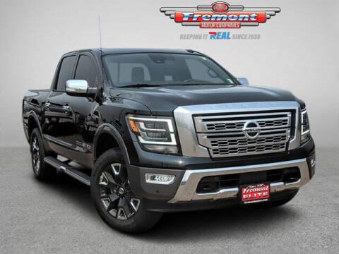 2020 Nissan Titan for sale at Rocky Mountain Commercial Trucks in Casper WY