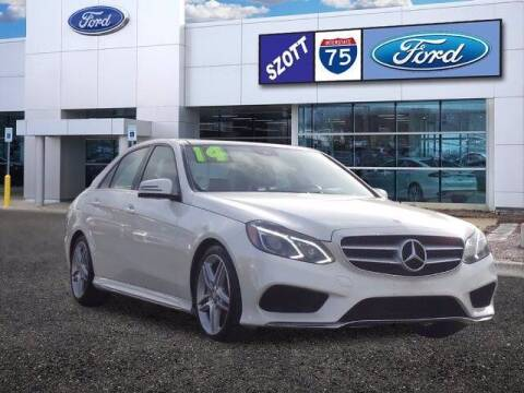 2014 Mercedes-Benz E-Class for sale at Szott Ford in Holly MI