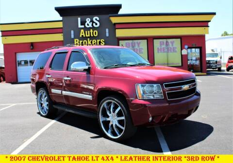 2007 Chevrolet Tahoe for sale at L & S AUTO BROKERS in Fredericksburg VA