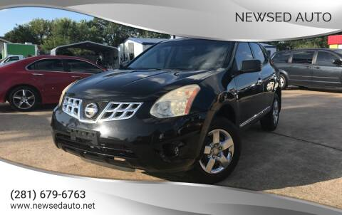 2012 Nissan Rogue for sale at Newsed Auto in Houston TX