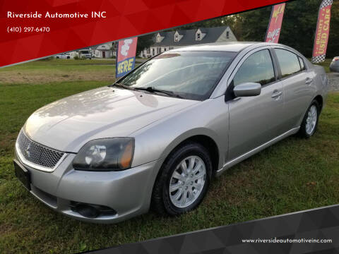 2011 Mitsubishi Galant for sale at Riverside Automotive INC in Aberdeen MD