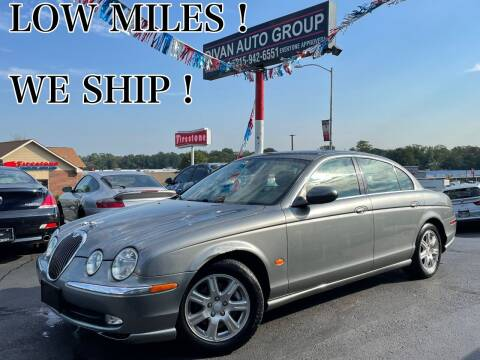 2004 Jaguar S-Type for sale at Divan Auto Group in Feasterville Trevose PA