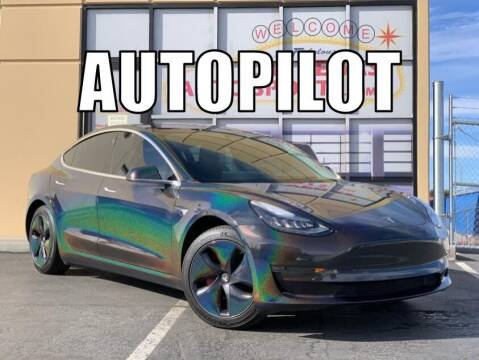 2019 Tesla Model 3 for sale at Las Vegas Auto Sports in Las Vegas NV