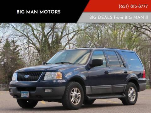 2003 Ford Expedition for sale at Big Man Motors in Farmington MN