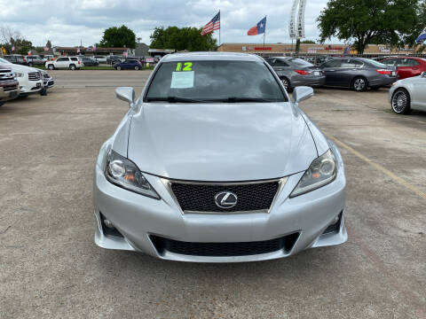 2012 Lexus IS 250 for sale at SOUTHWAY MOTORS in Houston TX