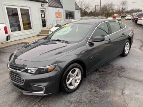 2018 Chevrolet Malibu for sale at Huggins Auto Sales in Ottawa OH
