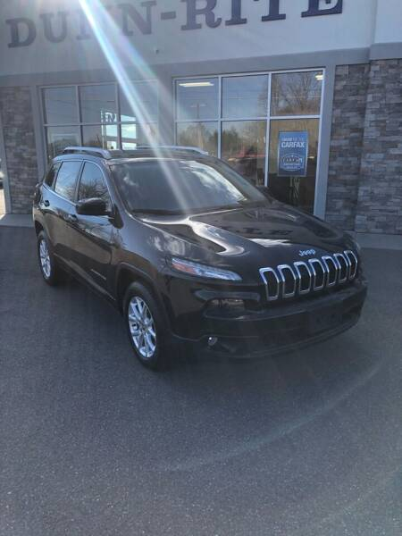 2015 Jeep Cherokee for sale at Dunn-Rite Auto Group in Kilmarnock VA