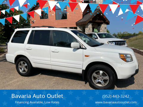 2008 Honda Pilot for sale at Bavaria Auto Outlet in Victoria MN