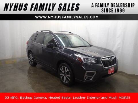 2019 Subaru Forester for sale at Nyhus Family Sales in Perham MN