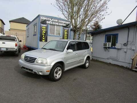 2002 Suzuki XL7 for sale at ARISTA CAR COMPANY LLC in Portland OR