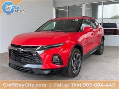 2020 Chevrolet Blazer for sale at GRAFF CHEVROLET BAY CITY in Bay City MI