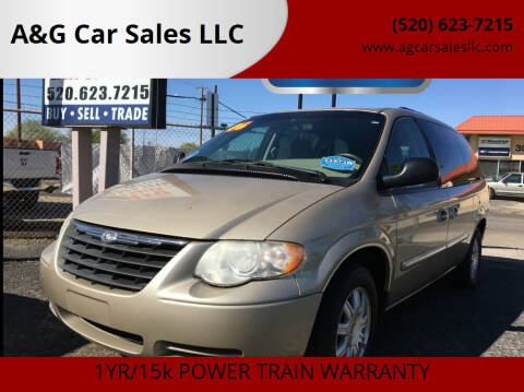 2006 Chrysler Town and Country for sale at A&G Car Sales  LLC in Tucson AZ