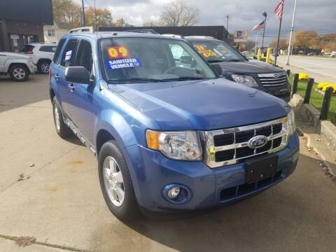 2009 Ford Escape for sale at Madison Motor Sales in Madison Heights MI