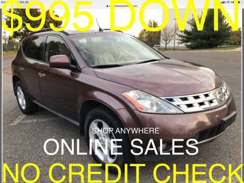 2004 Nissan Murano for sale at Cooks Motors in Westampton NJ